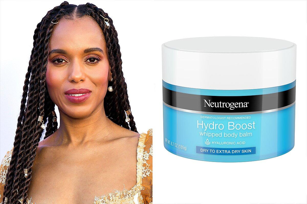 """After the shower, follow this derm rule: Apply lotion immediately to lock in the moisture while your skin is still damp and the bathroom air is humid. In winter you also may want to switch to a richer balm to coat and protect the skin, says dermatologist Joshua Zeichner. This one from Neutrogena is a celeb favorite. """"I love this whipped body balm. It's great for winter because it's really moisturizing but not greasy,"""" says Neutrogena brand ambassador Kerry Washington.  <strong>Buy It!</strong><a href=""""http://ulta.ztk5.net/c/249354/164999/3037?subId1=PEO%2C7EssentialStepstoAchievingHealthyWinterSkin%2Ckaitlynfrey%2CUnc%2CGal%2C7535850%2C201912%2CI&u=https%3A%2F%2Fwww.ulta.com%2Fhydro-boost-whipped-body-balm%3FproductId%3Dpimprod2002079"""" target=""""_blank"""" rel=""""nofollow"""">Neutrogena Hydro Boost Whipped Body Balm, $6.99; ulta.com</a>"""