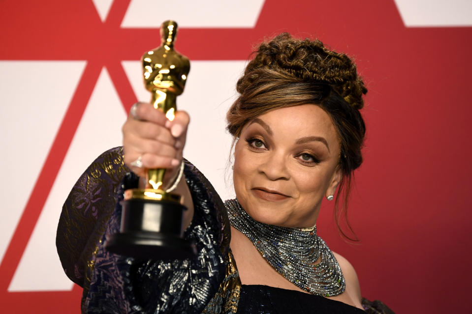 Ruth E Carter wins Best Costume Design for Black Panther