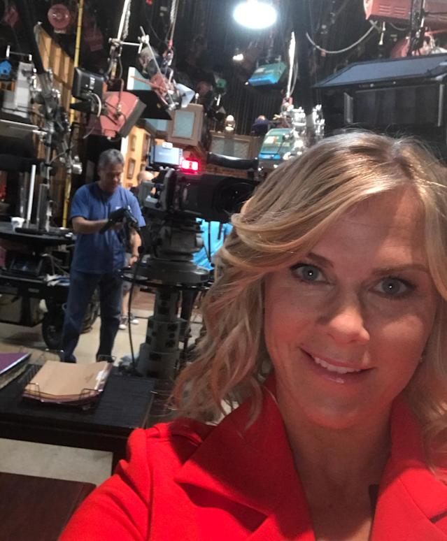 "<p>Backstage. <a href=""https://www.instagram.com/explore/tags/days/"" rel=""nofollow noopener"" target=""_blank"" data-ylk=""slk:#days"" class=""link rapid-noclick-resp"">#days</a>has the best crew ever – they're always there looking out for you! So happy to be back! — <a href=""https://www.instagram.com/alisweeney/"" rel=""nofollow noopener"" target=""_blank"" data-ylk=""slk:@alisweeney"" class=""link rapid-noclick-resp"">@alisweeney</a><br><br>(Photo: Instagram) </p>"