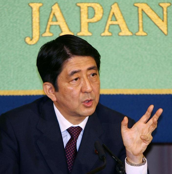 Abe was a fresh-faced 56 when he came to power for the first time in Japan, in 2006