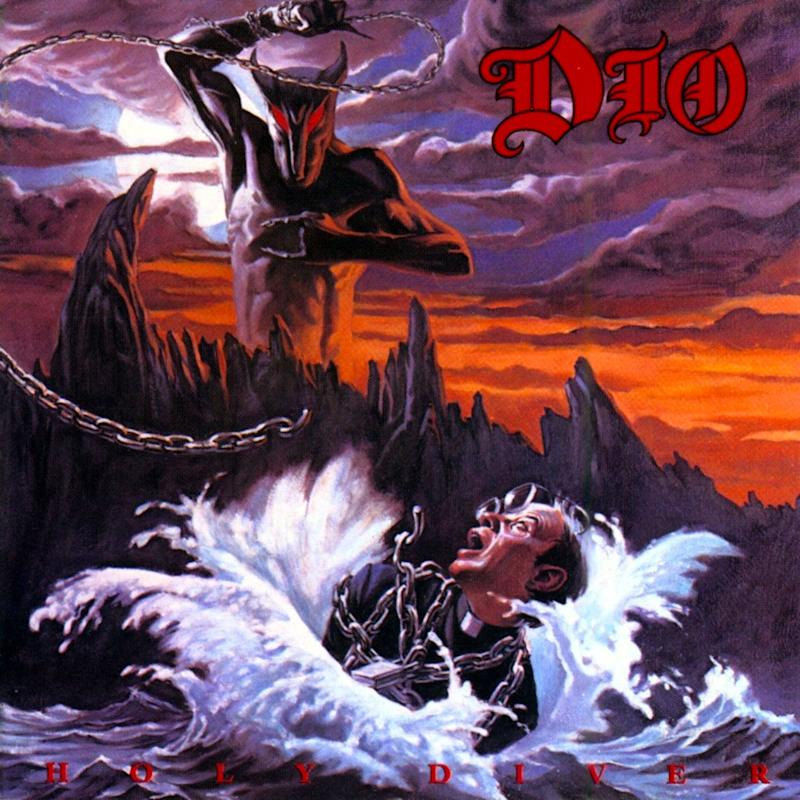 Holy Diver Album Art