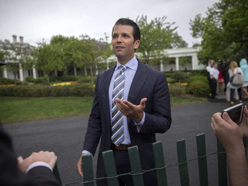 Donald Trump Jr has admitted having been in direct contact with WikiLeaks: EPA