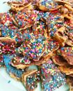 """<p>This scrumptious Passover treat is made with matzah and chocolate — and is even topped with walnuts, sprinkles, and edible glitter. Need we say more?!<br></p><p><em><a href=""""https://whatjewwannaeat.com/chocolate-caramel-matzah-crunch/"""" rel=""""nofollow noopener"""" target=""""_blank"""" data-ylk=""""slk:Get the recipe from What Jew Wanna Eat »"""" class=""""link rapid-noclick-resp"""">Get the recipe from What Jew Wanna Eat »</a></em></p>"""