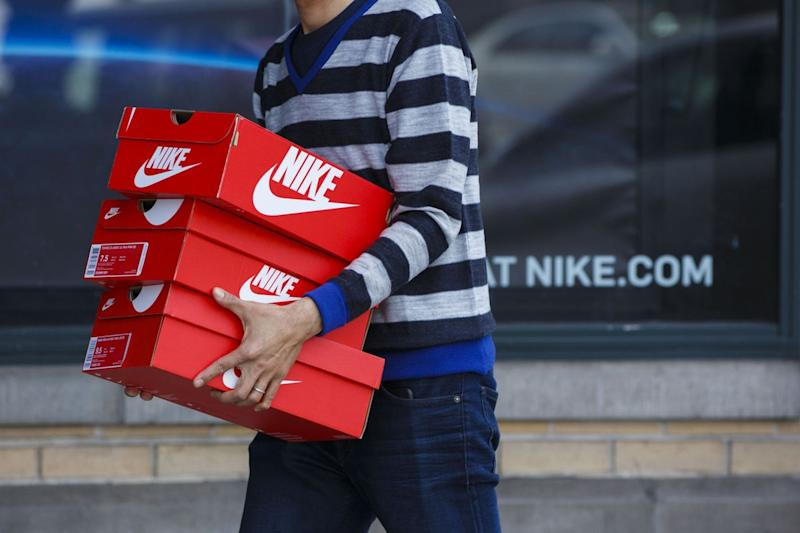 Nike Surges Most in Year After Sales Turn Positive in Home Market