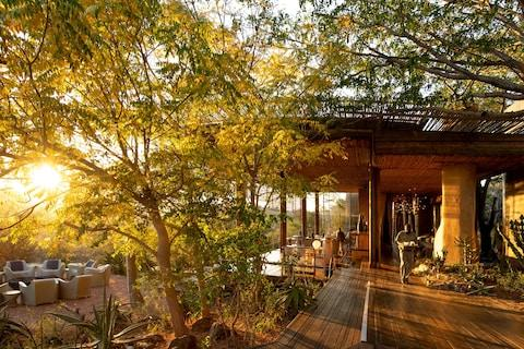 Singita was the first lodge in Africa to include Tesla Powerpacks for solar power storage - Credit: ross couper/singita