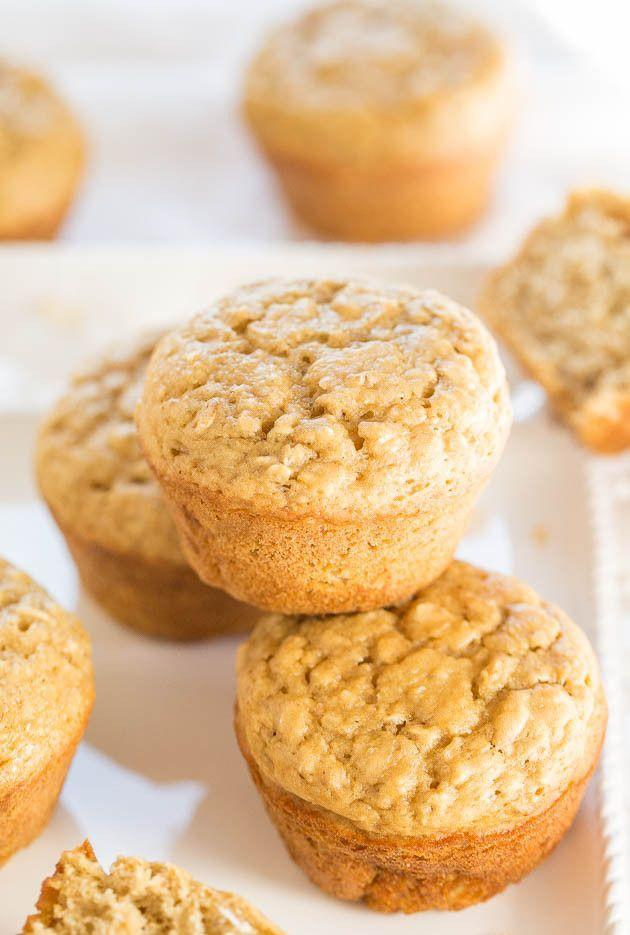 "<p>It's basically oatmeal.</p><p>Get the recipe from <a href=""http://www.averiecooks.com/2015/01/skinny-oatmeal-brown-sugar-muffins.html"" rel=""nofollow noopener"" target=""_blank"" data-ylk=""slk:Averie Cooks"" class=""link rapid-noclick-resp"">Averie Cooks</a>.</p>"