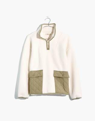 "<p><strong>Madewell</strong></p><p>madewell.com</p><p><strong>$128.00</strong></p><p><a href=""https://go.redirectingat.com?id=74968X1596630&url=https%3A%2F%2Fwww.madewell.com%2F%2528re%2529sourced-fleece-quilted-pocket-popover-jacket-MC240.html&sref=https%3A%2F%2Fwww.marieclaire.com%2Ffashion%2Fg35279033%2Fmadewell-secret-stock-sale-january-2021%2F"" rel=""nofollow noopener"" target=""_blank"" data-ylk=""slk:Shop Now"" class=""link rapid-noclick-resp"">Shop Now</a></p>"