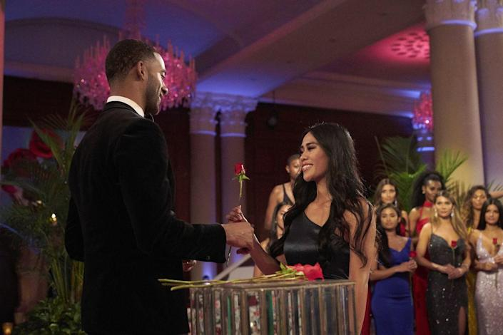 """<p>Former <em>Bachelor </em>executive producer Scott Jeffress confirmed this to Amy Kaufman in her book <em><a href=""""https://www.amazon.com/Bachelor-Nation-Americas-Favorite-Pleasure/dp/1101985909"""" rel=""""nofollow noopener"""" target=""""_blank"""" data-ylk=""""slk:Bachelor Nation: Inside the World of America's Favorite Guilty Pleasure"""" class=""""link rapid-noclick-resp"""">Bachelor Nation: Inside the World of America's Favorite Guilty Pleasure</a>.</em></p><p>""""We would say, 'We'd like you to keep this one because she's good for TV, and this other one we'd like you to get to know better,"""" <a href=""""https://www.elle.com/culture/movies-tv/a19136467/bachelor-nation-book-most-shocking-revelations/"""" rel=""""nofollow noopener"""" target=""""_blank"""" data-ylk=""""slk:he said"""" class=""""link rapid-noclick-resp"""">he said</a>—explaining that the final decision is up to the lead. </p>"""