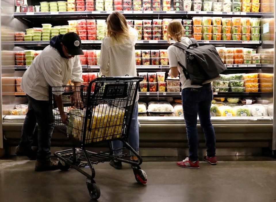 If you live in New Jersey, you won't have to pay sales tax when you go food shopping. REUTERS/Brendan McDermid