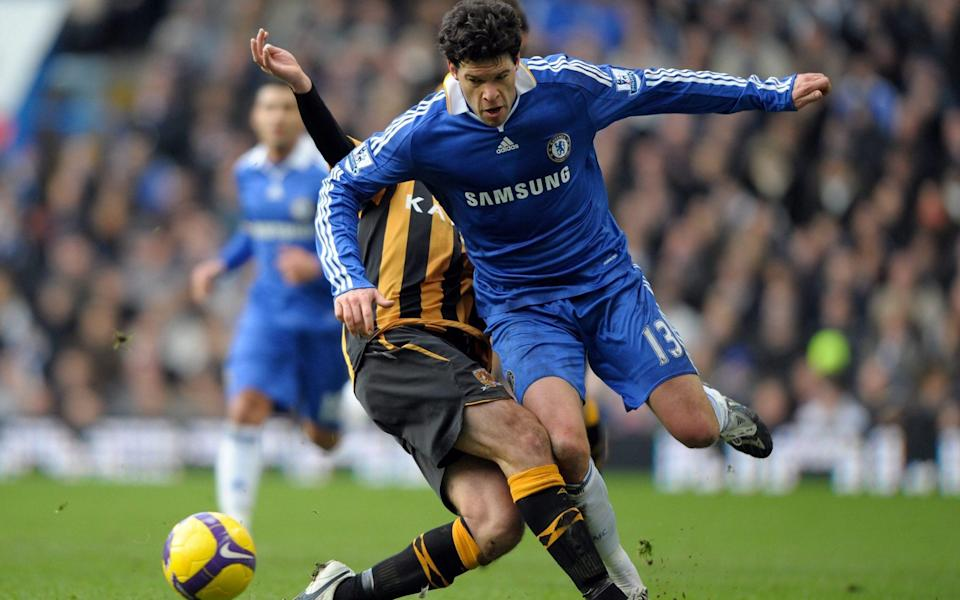 Michael Ballack played for Chelsea between 2006 and 2010 - Darren Walsh
