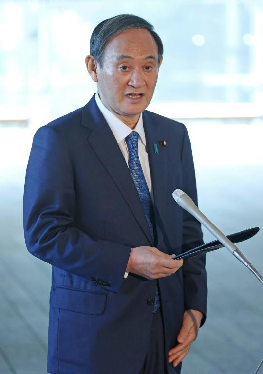 "Prime Minister Yoshihide Suga said Japan was in a ""situation of maximum alert"""