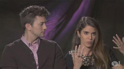 Nikki Reed, right, and Jackson Rathbone discuss final moments filming 'Breaking Dawn'