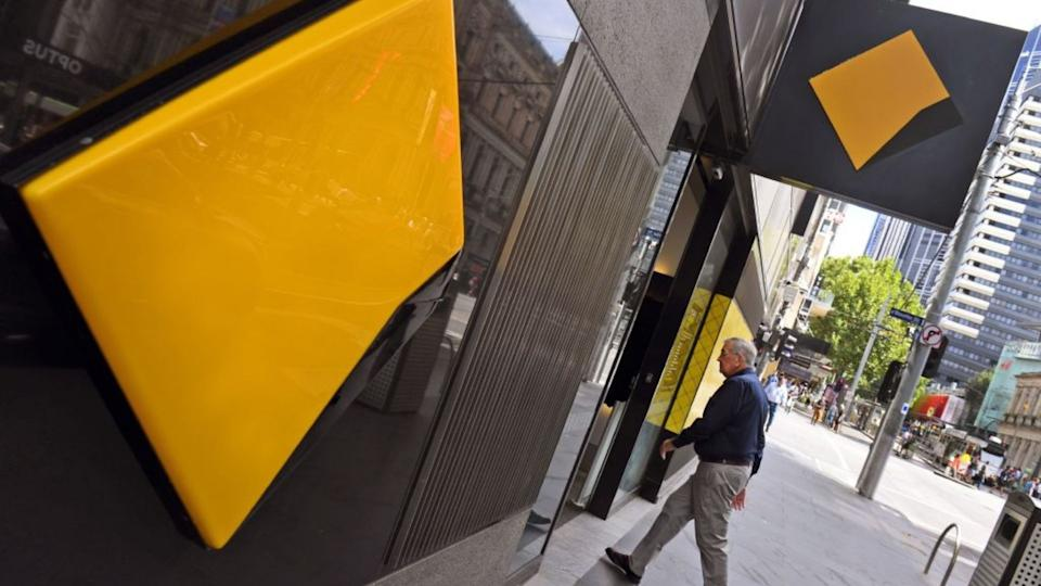 Exterior of Commonwealth Bank. (Image: Getty).