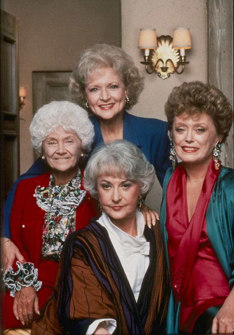 Something tells us the original Golden Girls would've loved his spoof! Photo: Getty Images.