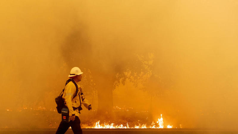 Fire authorities in California 'scrambling' for help amid deadly blazes
