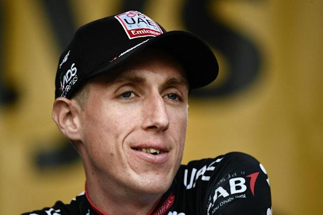 One of a wider than usual field for the Tour de France podium this year UAE Emirates leader Dan Martin says conserving energy and avoiding accidents at the cost of lost time over the first nine days is a calculated risk he is willing to run (AFP Photo/Philippe LOPEZ)