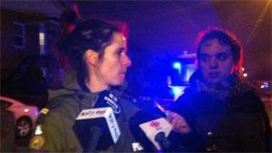 Quebec provincial police Sgt. Christine Coulombe says the mother of the three children found dead in the Drummondville home is an important witness and will be questioned by investigators. She was taken to hospital.