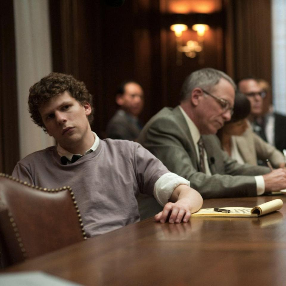 "<p>Often regarded as one of the defining films of the first 20 years of the 21st century (and perhaps the most relevant), the rise of Mark Zuckerberg and Facebook is a compelling watch, no matter how often you use the site anymore. Jesse Eisenberg dives into the role of Zuckerberg and makes you question exactly who is the underdog in this salacious origin story.</p><p><a class=""link rapid-noclick-resp"" href=""https://www.netflix.com/watch/70132721?source=35"" rel=""nofollow noopener"" target=""_blank"" data-ylk=""slk:Watch Now"">Watch Now</a></p>"
