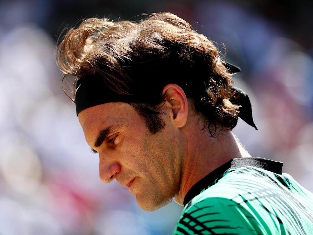 35-year-old Federer remains at the very top of his sport: Getty