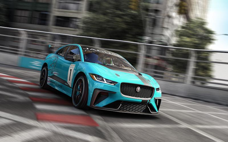 Jaguar is beginning an single series racing championship for its new I-Pace electric cars