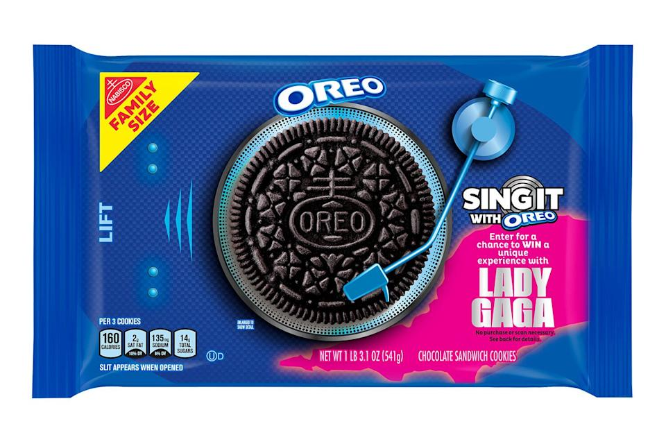 Oreo Releases New Lady Gaga Themed Bright Pink Cookies