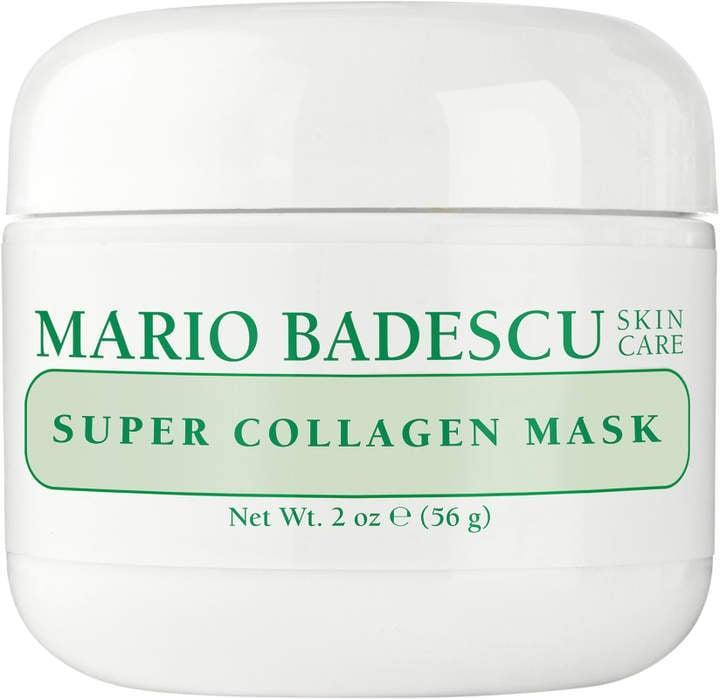 <p>Want to plump up your dull skin? Treat yourself to this fan-favorite <span>Mario Badescu Super Collagen Mask</span> ($18). Enriched with collagen, it helps make your face look and feel firmer. </p>