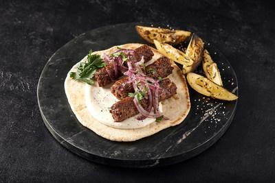 Redefine Lamb Kebab – an extremely juicy, minced meat product designed to address the most common meat street food dish in cuisines from the middle east through to India