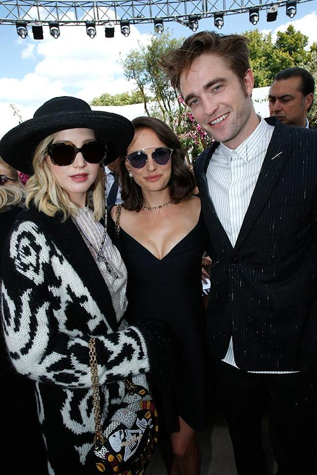 <p>An A-list crowd of actors and other creatives turned out — well dressed, of course — for the Christian Dior presentation at Haute Couture Fashion Week in Paris. (Photo: Bertrand Rindoff Petroff/Getty Images) </p>