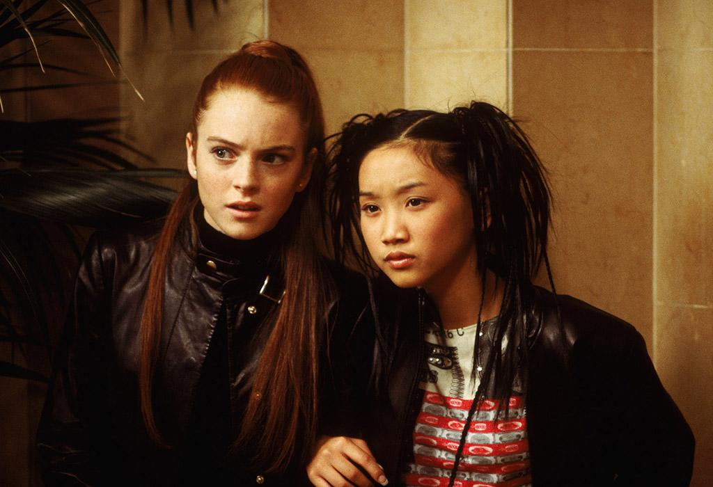 "HIGH: 'Get a Clue' Clearly a Disney darling, LiLo (pictured with Brenda Song) went on to star in another Disney Channel original movie in 2002 called ""Get a Clue,"" which told the story of a wealthy student who investigates after one of her teachers goes missing. Isn't she just the bee's knees?"