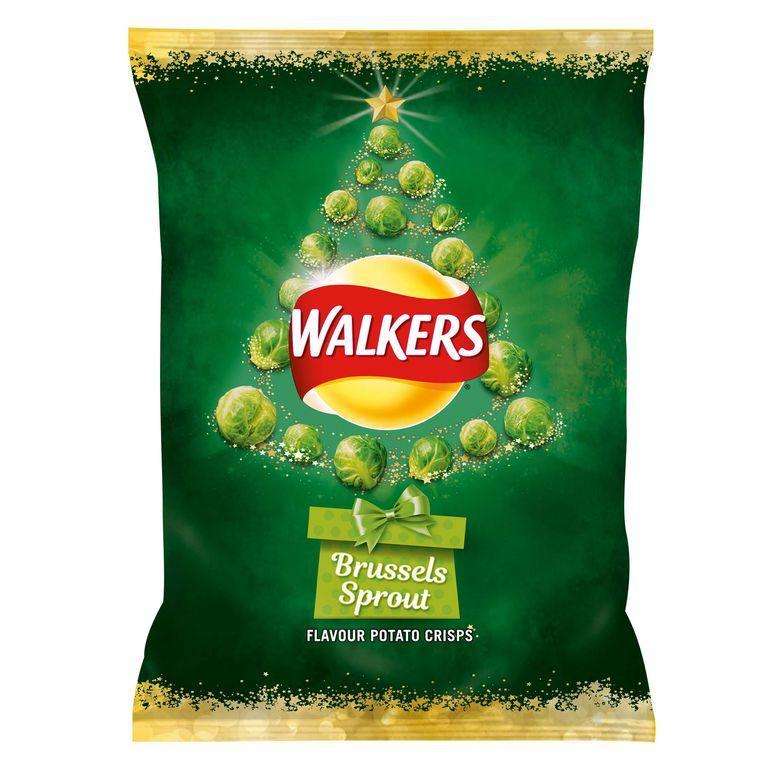 Do you dare try Walkers' new Brussels sprout flavoured crisps? [Photo: Walkers]