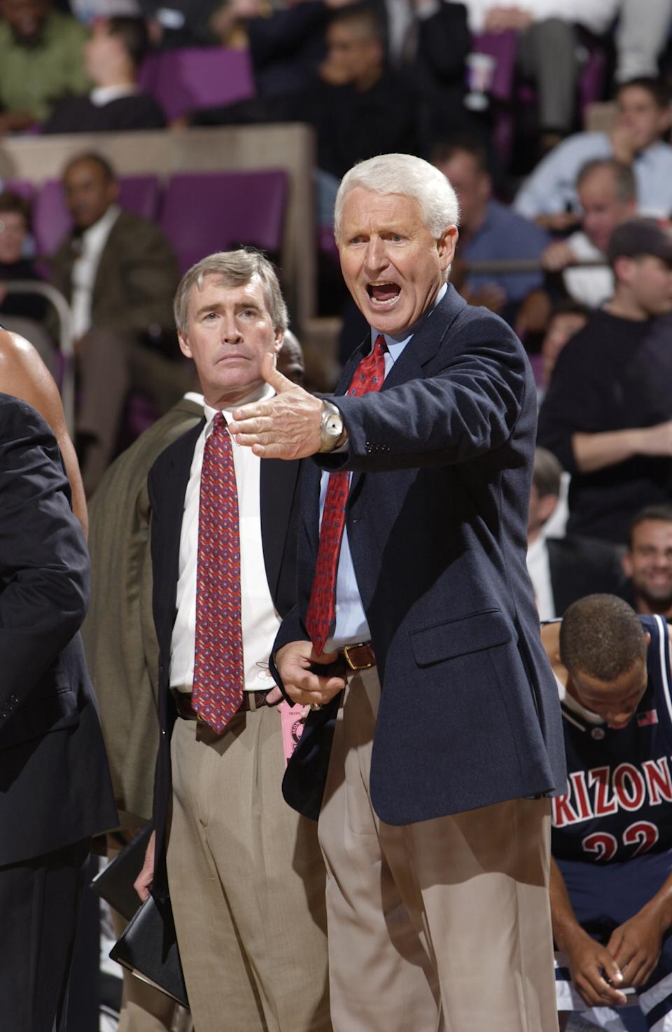 Lute Olson, the longtime coach of the Arizona Wildcats who turned the program from a Pac-12 also-ran into a traditional power and eventual national champion, died at age 85. Before coaching in Tucson, Olson also coached at Long Beach City College and Iowa, where he left a successful Hawkeyes program to gamble on the Wildcats. It paid off, as he became the winningest coach in program history and earned a spot in the Hall of Fame.