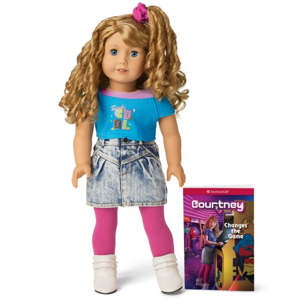 <p>The newest historical American Girl doll was just released this year, and this '80s gal is so amazing, she's already high on our list. Courtney Moore has the absolute best accessories: With a Pac-Man arcade game, a Walk-man, and a Care Bear sleeping bag, she's got that retro vibe down. This newbie doll shows that girls can be arcade heroes while rocking a killer side pony. She is also obsessed with outer space and encourages women to be leaders and join the space program.</p>