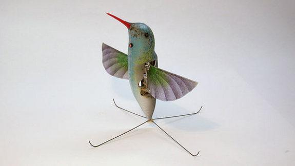 The DARPA hummingbird drone is one of several prototypes that could lead to tomorrow's tiny robots.