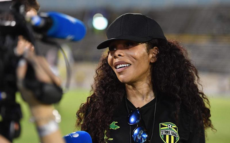 Cedella Marley has personally funded the Jamaican team - AFP