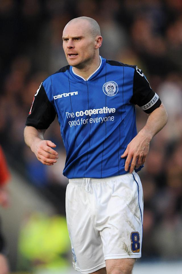 Gary Jones made over 500 appearances for Rochdale