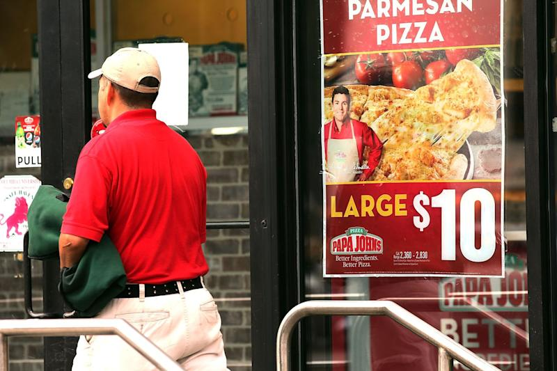 Papa John's founder loses office in corporate headquarters over racial slur