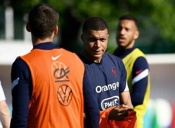 Kylian Mbappe and France are the favourites to add the Euro crown to the World Cup they won in Russia in 2018