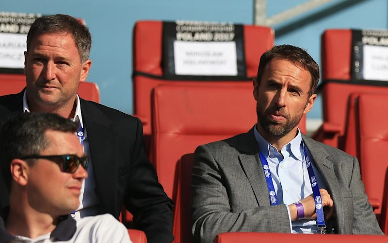 gareth southgate at england game - Credit: GETTY IMAGES