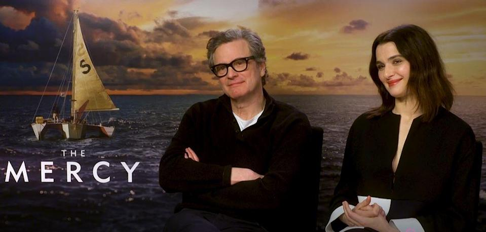 Colin Firth and Rachel Weisz play Don and Claire Crowhurst in The Mercy