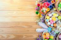 """<p>Like other holidays, Easter comes with its fair share of to-dos, like planning <a href=""""https://www.oprahdaily.com/life/g30446380/easter-brunch-ideas/"""" rel=""""nofollow noopener"""" target=""""_blank"""" data-ylk=""""slk:a brunch menu"""" class=""""link rapid-noclick-resp"""">a brunch menu</a>, adorning your space with <a href=""""https://www.oprahdaily.com/life/g31280852/diy-easter-decorations/"""" rel=""""nofollow noopener"""" target=""""_blank"""" data-ylk=""""slk:Easter decorations"""" class=""""link rapid-noclick-resp"""">Easter decorations</a>, and playing the role of the Easter bunny. The latter job comes with a whole host of tasks, like picking out (<a href=""""https://www.oprahdaily.com/life/g30506642/easter-basket-ideas/"""" rel=""""nofollow noopener"""" target=""""_blank"""" data-ylk=""""slk:or DIY-ing"""" class=""""link rapid-noclick-resp"""">or DIY-ing</a>) the right basket, choosing fillers, and selecting budget-friendly (and maybe even chocolate-covered) Easter gifts to nestle inside.</p><p>While there are plenty of popular gifts you can pick up at the drugstore, the best Easter baskets come together with careful planning. For babies and toddlers who aren't yet ready for candy, swap in small sensory toys like egg-shaped maracas and textured <a href=""""https://www.oprahdaily.com/entertainment/g30504062/best-easter-books/"""" rel=""""nofollow noopener"""" target=""""_blank"""" data-ylk=""""slk:Easter books"""" class=""""link rapid-noclick-resp"""">Easter books</a>. As they grow, kids and tweens will surely appreciate the jelly beans and chocolate bunny—but additional items like stuffed animals and <a href=""""https://www.oprahdaily.com/beauty/skin-makeup/g35178565/best-temporary-tattoos/"""" rel=""""nofollow noopener"""" target=""""_blank"""" data-ylk=""""slk:temporary tattoos"""" class=""""link rapid-noclick-resp"""">temporary tattoos</a> will also delight. Adults can get in on the fun, too. Think single-focus gift baskets, like a small bath caddy filled with <a href=""""https://www.oprahdaily.com/beauty/skin-makeup/g33324897/best-korean-face-masks/"""" rel=""""nofollow noopener"""" target=""""_blank"""" da"""