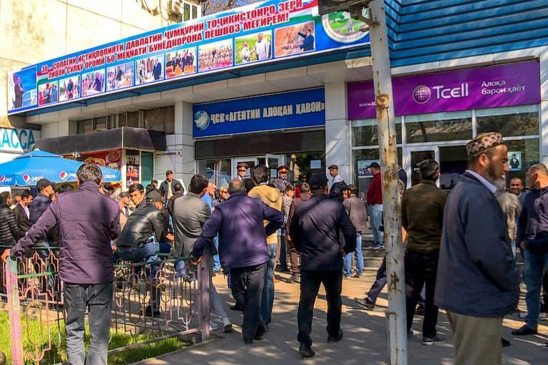 Russia relies on migrants from the ex-Soviet states of Central Asia to fill jobs as construction workers, street cleaners, farm labourers and delivery people