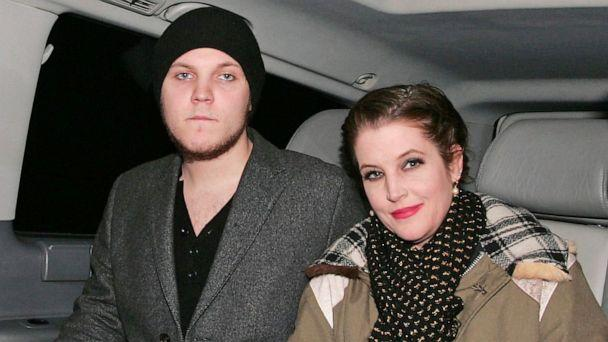 PHOTO: Benjamin Presley Keough and Lisa Marie Presley at Mr Chow restaurant, London, Jan. 9, 2012. (Copetti/Photofab/Rex via Shutterstock, FILE)