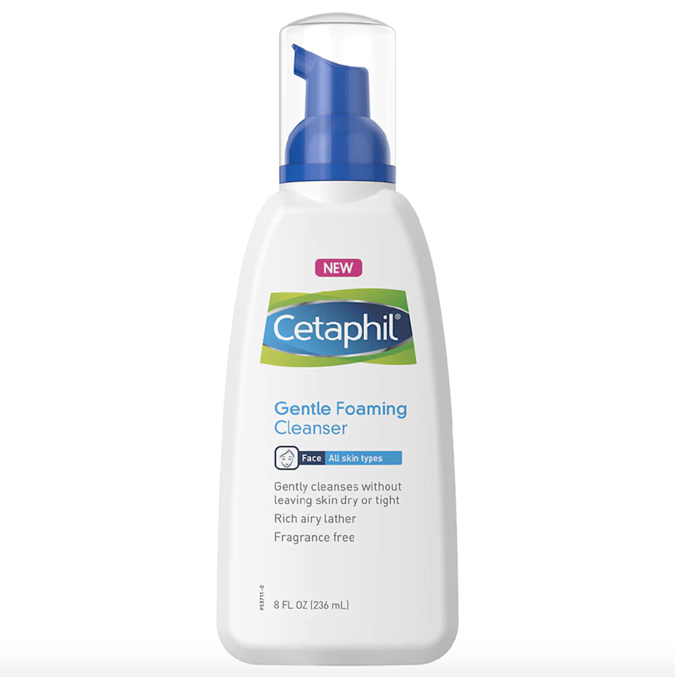 """There's a reason this no-frills face wash is a seven-time Best of Beauty winner and a four-time <em>Allure</em> Reader's Choice winner: It's just that good. It doesn't contain any harsh fragrances, surfactants, or preservatives that can make <a href=""""https://www.allure.com/story/foaming-cleansers-irritates-skin?mbid=synd_yahoo_rss"""" rel=""""nofollow noopener"""" target=""""_blank"""" data-ylk=""""slk:other cleansers"""" class=""""link rapid-noclick-resp"""">other cleansers</a> drying, so it's perfect for those who have sensitive skin."""