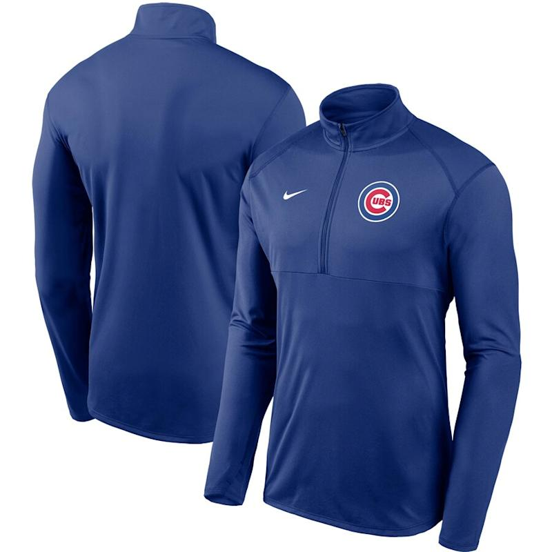 Cubs Element Performance Half-Zip Pullover Jacket