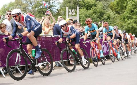 <span>Mark Cavendish and his Great Britain team-mates were squeezed out of the road race at the London Olympics</span> <span>Credit: Action Images </span>