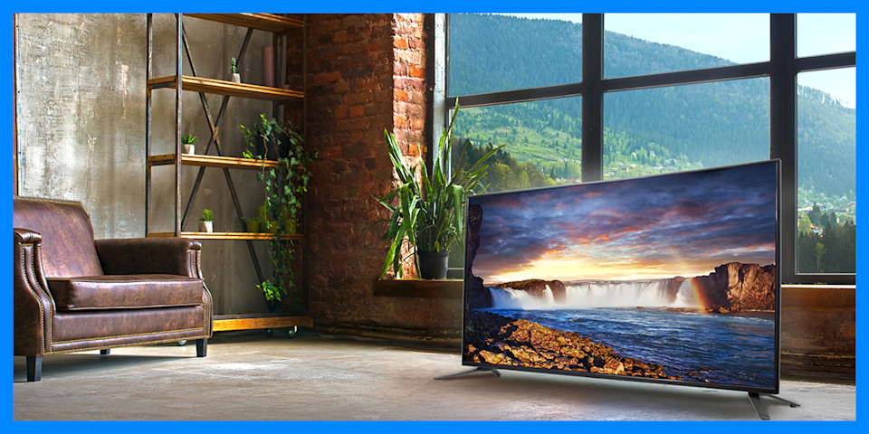 Sceptre 50-inch Class 4K Ultra HD LED TV (U515CV-U) is on sale for $208, or $72 off. (Photo: Walmart)