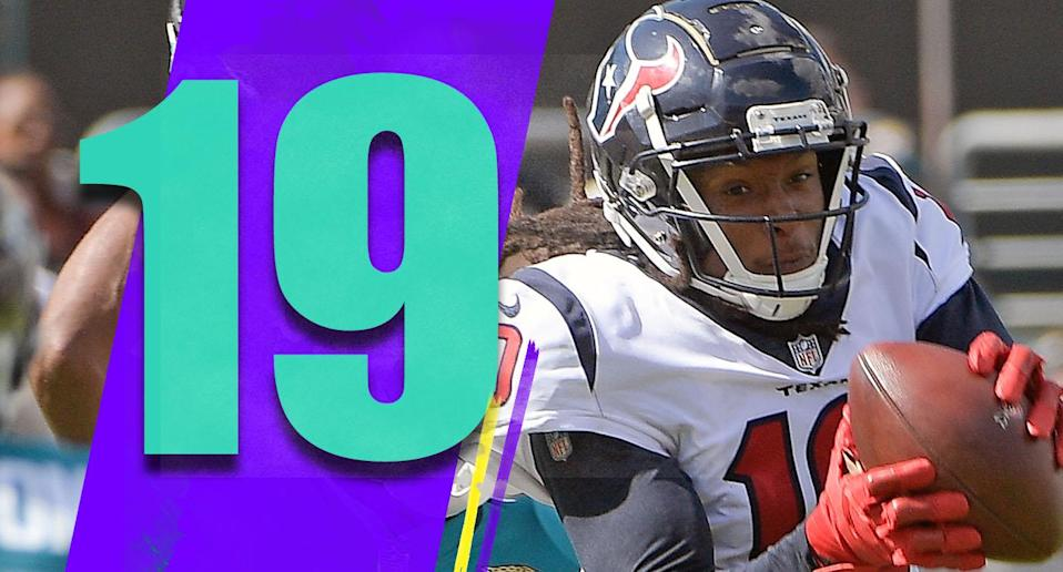 <p>Houston is suddenly 4-3 and in first place. At this point, who else in the AFC South is really going to beat them for the division title? (DeAndre Hopkins) </p>