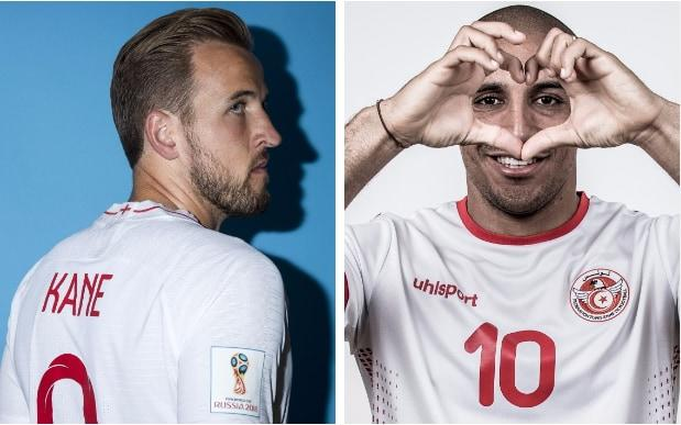 Harry Kane is inbuoyant mood after a strong season for Tottenham - can he lead England to victory overWahbi Khazri and Tunisia? - Getty Images
