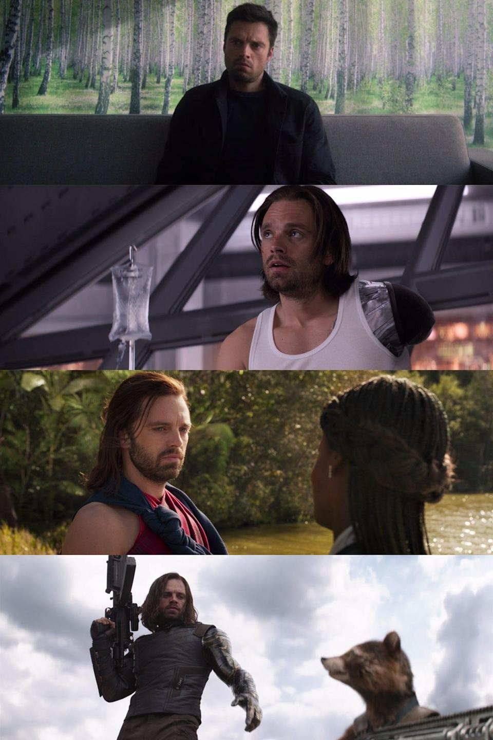 the falcon and the winter soldier 101 detail bucky therapy wakanda