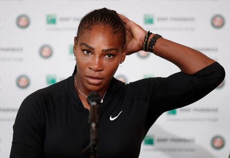 Tennis - French Open - Roland Garros, Paris, France - June 4, 2018 Serena Williams of the U.S during a press conference REUTERS/Benoit Tessier